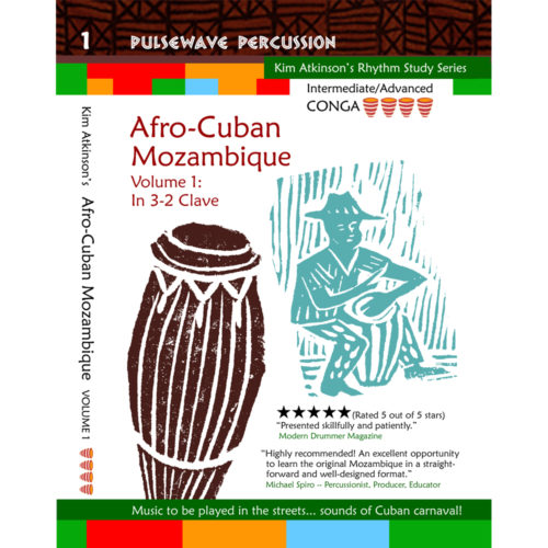Learn to play Mozambique on conga drum v1